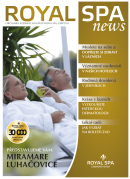 Royal spa news