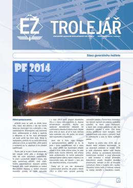PF 2014 - Elektrizace železnic Praha as