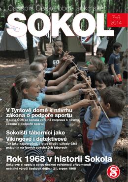 srpen 2014 - Česká obec sokolská