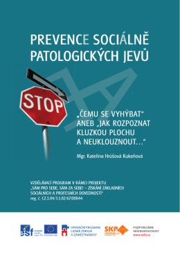 Prevence sociálně Patologických jevů - SKP
