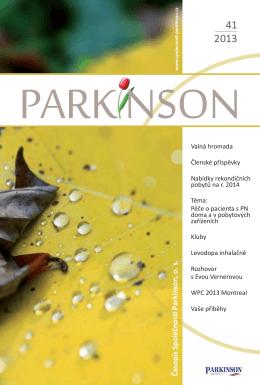č. 41 - Společnost Parkinson, os