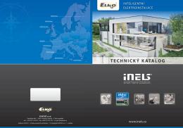 INTELIGENTNÍ ELEKTROINSTALACE www.inels.cz