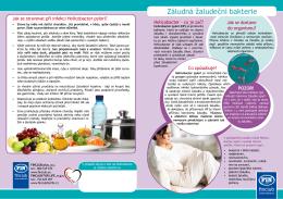 Test na Helicobacter pylori + léčba