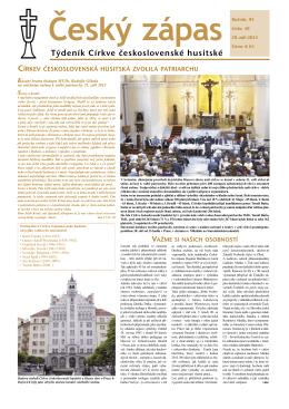 39/2013 - Církev československá husitská