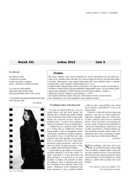 Okénko do farnosti 5/2012 (formát pdf) - Farnost Letohrad