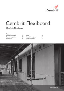 Cembrit Flexiboard - Montážní návod