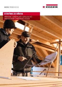 dřevostavby z materiálů EGGER (česky/PDF)