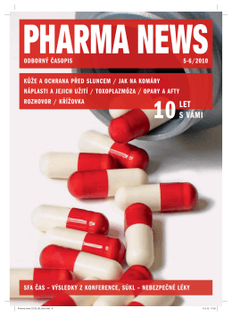 10LET S VÁMI - pharma news