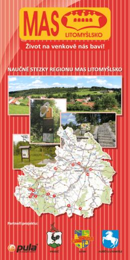 Naučné stezky regionu MAS Litomyšlsko leták (PDF)