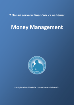 Money Management a Risk management