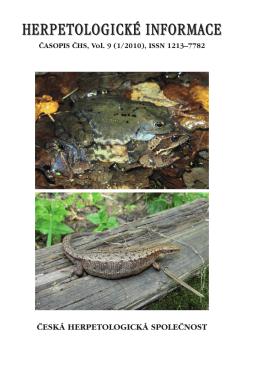 (pdf) HI-2010 - Česká herpetologická společnost