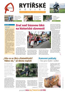 rytířské noviny - Kraj Blanických rytířů