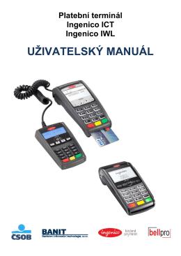 Manuál k platebnímu terminálu ICT220 (PDF)