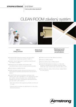 CLEAN ROOM závěsný systém