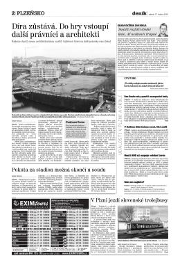 Plzeňský deník 17.1.2014