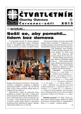 3/13 - Charita Ostrava