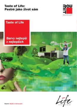 Barvy nejlepší z nejlepších Taste of Life: Pestré jako život