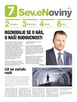 Sev.eNoviny ročník 2 číslo 1