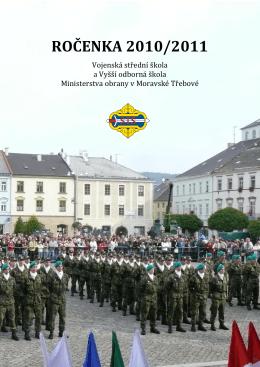 Ročenka 2010/2011 - Vojenská střední škola a Vyšší odborná škola