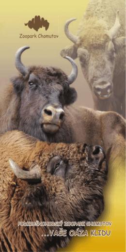 ...VAŠE OÁZA KLIDU - Podkrušnohorský Zoopark Chomutov