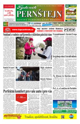 Vydání Týdeníku Pernštejn z 03.11. 2014, č. 41