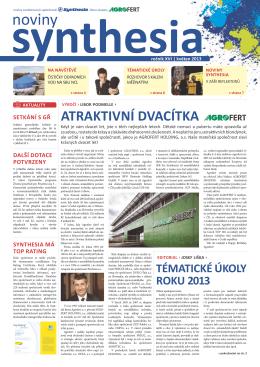 noviny synthesia