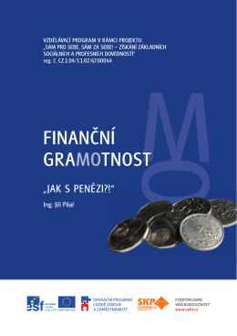 Finanční gramotnost - SKP