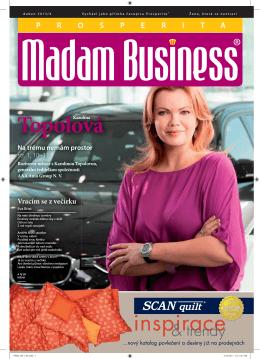Duben - Prosperita Madam Business