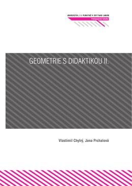 Geometrie s didaktikou II