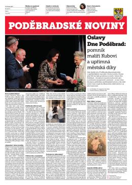 Oslavy Dne Poděbrad: