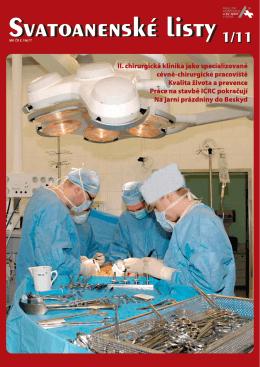 Svatoanenské listy - Fakultní nemocnice u svaté Anny v Brně