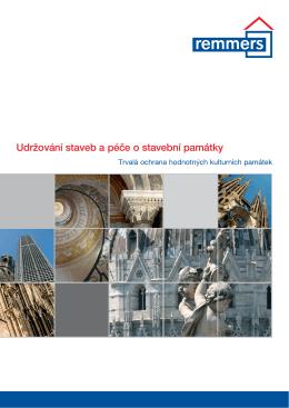 Udržování staveb a péče o stavební památky