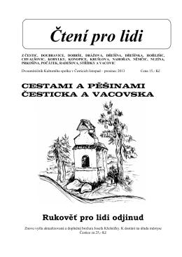 Čtení pro lidi - Městys Čestice