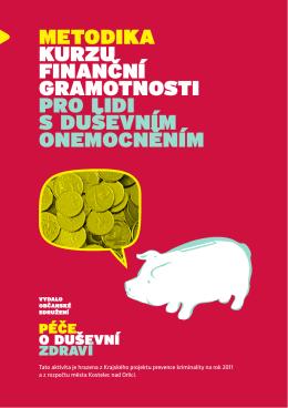 Metodika kurzu finanční graMotnosti pro lidi s duševníM oneMocněníM