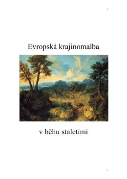 Evropská krajinomalba
