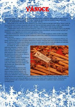 Vánoce – vše možné o Vánocích