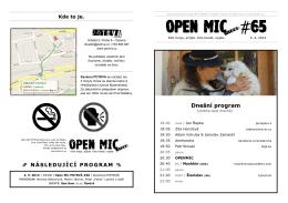 OPEN MIC #65