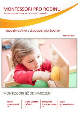 Montessori pro rodinu – červenec 2013