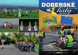 Doberské listy - listopad 2013