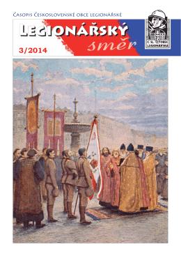Legionarsky smer 3 2014 - Československá obec legionářská