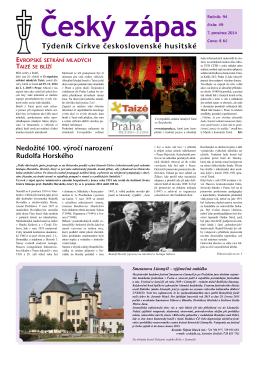 49/2014 - Církev československá husitská