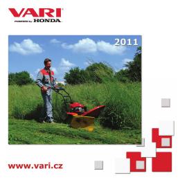 Katalog a ceník ke stažení - bubnové sekačky VARI 2011