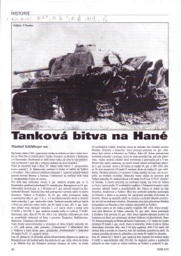Tanková bitva na Hané