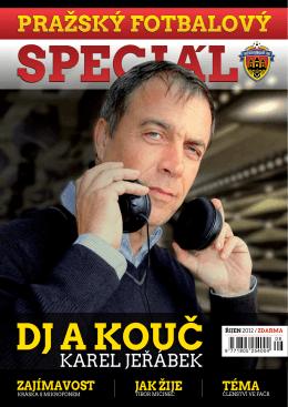 Karel JeŘábeK - Pražský fotbalový svaz