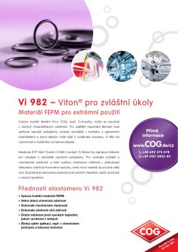 Vi 982 – Viton® pro zvláštní úkoly
