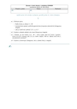 Otázky k ústní zkoušce