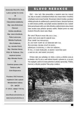 SLOVO REDAKCE