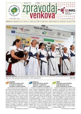 9/ 2013 (186) - SPOV - Spolek pro obnovu venkova
