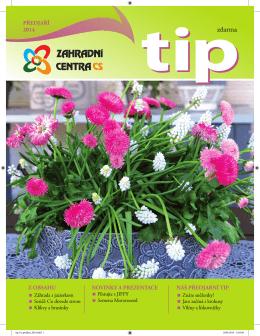 TIP Předjaří 2014 - Zahradní centra CS, obchodní družstvo