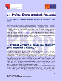 Newsletter 1 pksp
